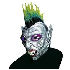 Maschera Punk Alien Con Cresta E Occhi