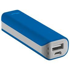 Primo Powerbank Caricatore portatile 2200 mAh - Blu