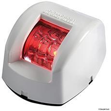 Fanale di via Mouse rosso corpo ABS bianco