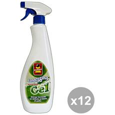 Set 12 Candeggina Gel Trigger 750 Ml. Detergenti Casa