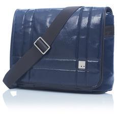 """Borsa Notebook fino a 11"""" Saxby Colore Blu"""