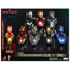 Iron Man Coll Bust 8-pack Box Busto