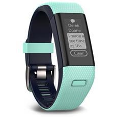 Activity Tracker Approach X40 Bluetooth con GPS per Fitnes Colore Celeste / Nero