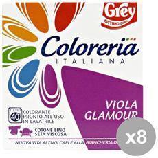 Set 8 Viola Glamour Detergenti Casa
