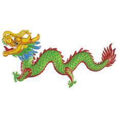 Dragone Cinese Da Decorazione Taglia Unica