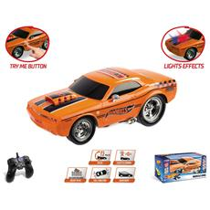 Hot Wheels Muscle King R / c, Colore Nero, Mm-63507