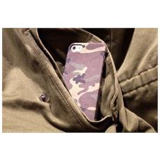 Camo Hard Case + Skin per iPhone 5/5s