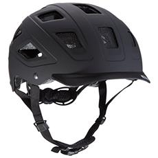 Hyban Velvet Monopattino Nero casco protettivo