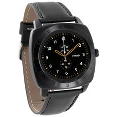 "Smartwatch Nara XW Display 1.2"" 64GB Bluetooth con Contapassi e Cardiofrequenzimetro Nero - Europa"
