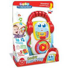Baby Clementoni - Deejay Press And Play