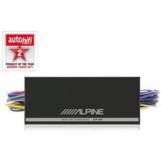 Amplificatore ed equalizzatore compatto 4 canali KTP 445 A 4 X45 RMS 4 X100 max