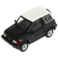 Prd330 Suzuki Sidekick 1994 Convertible Black With Soft Top White 1:43 Modellino