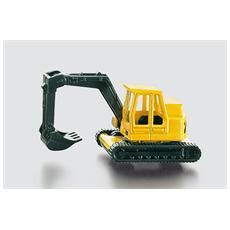 Escavatore Nera e Gialla 8 x 3 x 3 cm 4006874008018