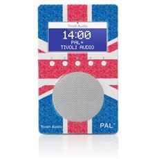Pal+ Radio Portatile DAB / DAB+ / DMB / FM / RDS UK Flag