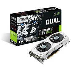 GeForce GTX 1060 6 GB GDDR5 Pci-E DisplayPort x 3 / HDMI / DL-DVI-D Dual OC
