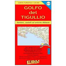 GE-39 Golfo Tigullio turisti. Carte dei sentieri di Liguria