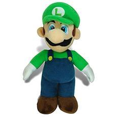 Peluche Luigi Super Mario Bros. Pupazzo Pluch Figure Figura 30 Cm