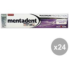 Set 24 Dentifricio Maximum Protezione Rivitalizzante Smalto 75 Ml. Prodotti Per Il Viso