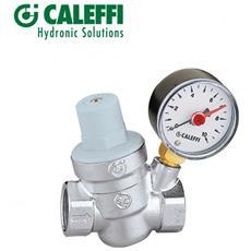 Caleffi 533241 Riduttore Pressione Inclinato 1/2'', Manometro
