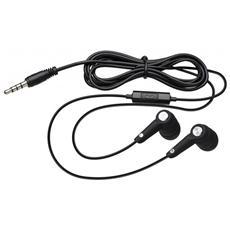 Interactive Earphone, Stereofonico, Interno orecchio, Nero, Cablato, Intraurale, PTT