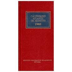Calendario atlante De Agostini 1982