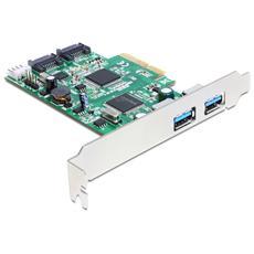 PCIe 2xUSB3ext. 2xSATA int.