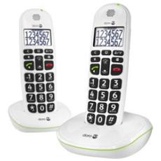 Phoneeasy 110 Cordless Duo White Big Button