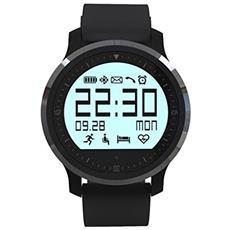 Smartwatch F68 con Bluetooth 4.0 Colore Nero