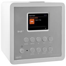 Radio Digitale DABMAN D10 DAB+ / FM Colore Bianco Argento