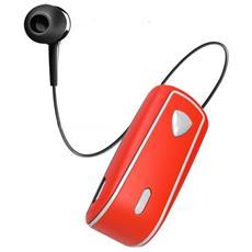 Auricolari BHSNAILRD Connessione Wireless per Mobile Colore Arancio