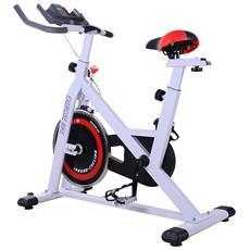 Speed Byke Fitness Colore Bianco / nero / rosso Dimensioni 107x48x100cm