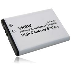 Batteria Compatibile Con Controller Nintendo Switch Pro Controller Sostituisce Ctr-003, C / ctr-a-ab - (li-ion, 1300mah, 3.7v)