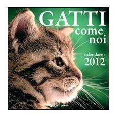 Gatti come noi. Calendario 2012