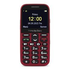 "Primo 366 Rosso Display 2.3"" +Slot MicroSD Bluetooth e Fotocamera - Italia"