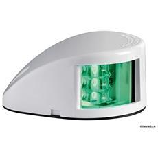Fanale di via Mouse Deck verde corpo ABS bianco
