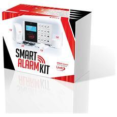 Kit Antifurto Allarme Casa Kit Gsm Wireless Senza Fili Controllabile Da Cellulare Con Apposita App