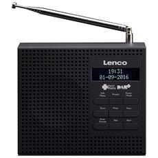 Radio PDR-020 Colore Nero
