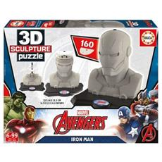 Puzzle 3D Sculpture Iron Man