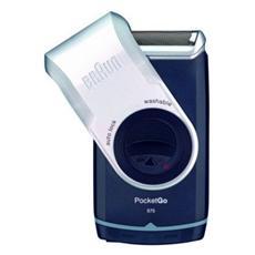M90 MobileShave Rasoio Elettrico a Batteria Colore Blu Scuro e argento