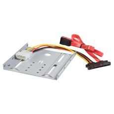 Kit di montaggio disco rigido SATA 2,5'' in alloggiamento unità 3,5''