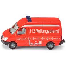 Ambulanza Rossa 7.5 x 3.9 x 3 cm 4006874008056