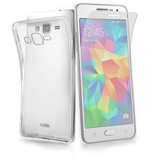 Cover Aero Trasparente Per Samsung Galaxy Grand Prime + Screen