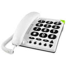 PHONEEASY 311c CORDED WHITE BIG BUTTON