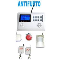 Antifurto Gsm Wireless Gsm E Pstn Allarme Casa Ufficio Senza Fili Attivazione Da Cellulare