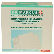Dr. marcus Compresse Di Garza 10x10 Cm. - Cerotti Bende E Garze