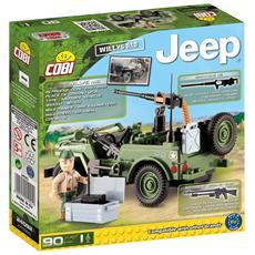 24092 - Jeep Willys Mb Gioco Di Costruzioni Small Army 02583