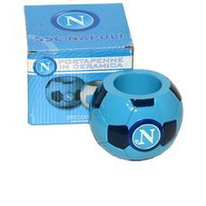 Ssc Calcio Napoli Portapenne Pallone Blu