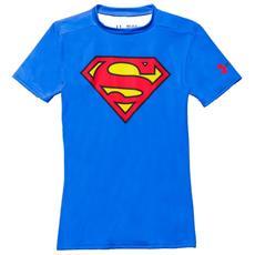 T-shirt Bambino Ua Alter Ego Basela S Blu Rosso