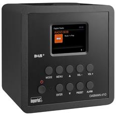 Radio Digitale DABMAN D10 DAB+ / FM Colore Nero