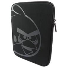 laptop sleeve uccelli arrabbiato nero (8 / ipad) - [ k0755]